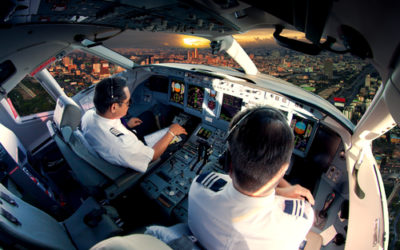 What can a Commercial Pilot expect on their First Inflight Training Experience